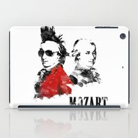 mozart iPad Cases featuring Mozart Punk by viva la revolucion