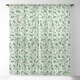 Lush Greens Sheer Curtain