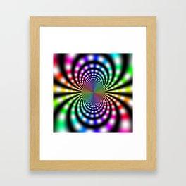 Fractal Op Art 8 Framed Art Print