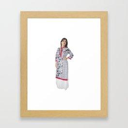 Designer Kurtis for Ladies Framed Art Print