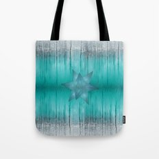 Crystal frozen star forest Tote Bag