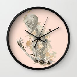 Stranger Danger I [sans type] Wall Clock