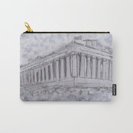 Illustartion of the Parthenon Carry-All Pouch