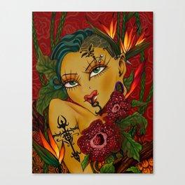 Bohemian Queen Canvas Print