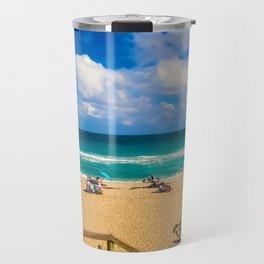 At the Beach Travel Mug