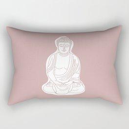 Buddha. Rectangular Pillow