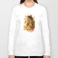 jennifer lawrence Long Sleeve T-shirts featuring Jennifer Lawrence II by Rene Alberto