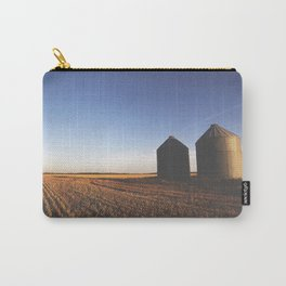 Grain Silo Sunset Carry-All Pouch