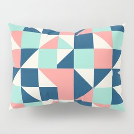 colorful triangle Pillow Sham