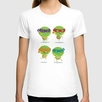 turtles T-shirts featuring Turtles by Maria Jose Da Luz