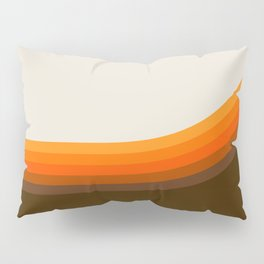 Golden Horizon Diptych - Right Side Pillow Sham
