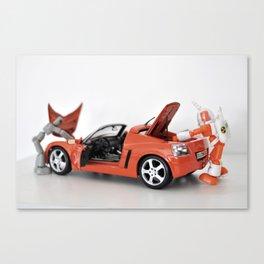 Car Repair Canvas Print