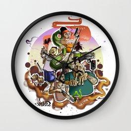 gta los angeles Wall Clock