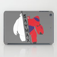 baymax iPad Cases featuring BAYMAX by Sarah Anne Cimaglio