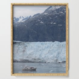Sailing through Glacier Bay Serving Tray