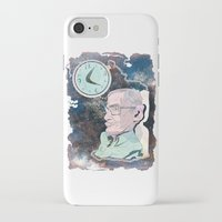stephen king iPhone & iPod Cases featuring Stephen Hawking by Dushan Milic