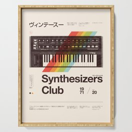 Synthesizers Club Serving Tray