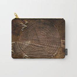 Tree Trunk with Moss Carry-All Pouch