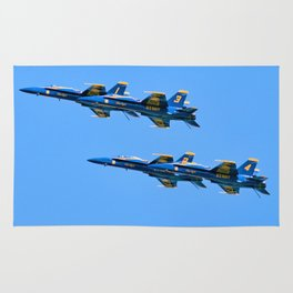 The Blue Angels In Myrtle Beach Rug