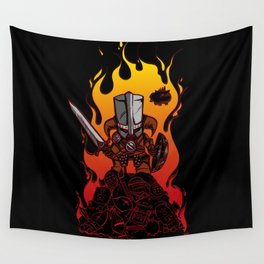 Dragon Crasher Wall Tapestry