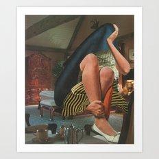 Contemplative Shroud Art Print