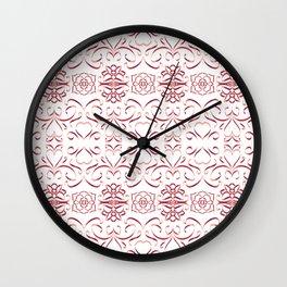 Hearts 7 Wall Clock