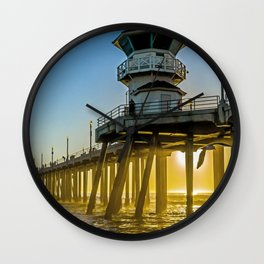 Seagull Photobomb Wall Clock