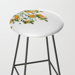 A Bit of Spring and Sushine Trailing Oranges Bar Stool