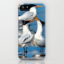 Elegant Mating Dance iPhone Case