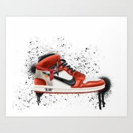 OFF WHITE J1 Art Print