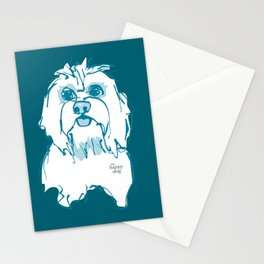 LulZ. Teal.  Stationery Cards