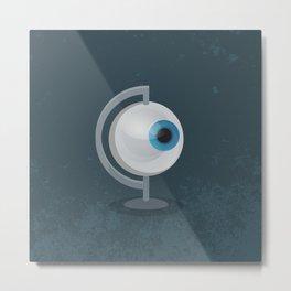 Global Surveillance Metal Print