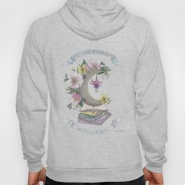 Freedom, Books, Flowers and The Moon Hoody