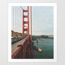 golden gate bridge Kunstdrucke