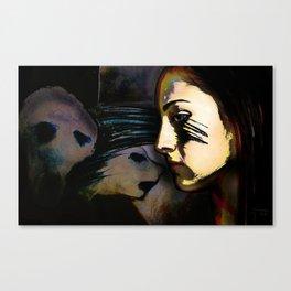 Mean Spirited Gossip Canvas Print