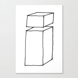 3D letter i Canvas Print