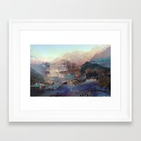 tchmo Framed Art Prints featuring Untitled 20140511x by tchmo