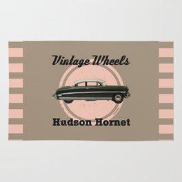 Vintage Wheels: Hudson Hornet Rug