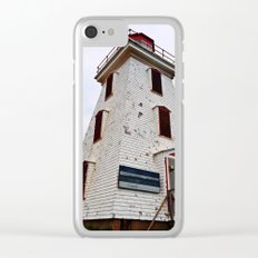 Cape Egmont Lighthouse and Radio Tower Clear iPhone Case