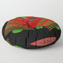 Christmas Bells Floor Pillow
