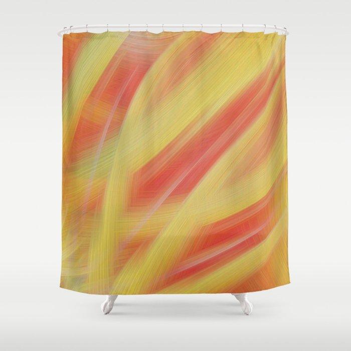 Motra - Abstract Strokes #40 Shower Curtain
