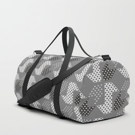 Clover&Nessie Gray/LightGray Duffle Bag