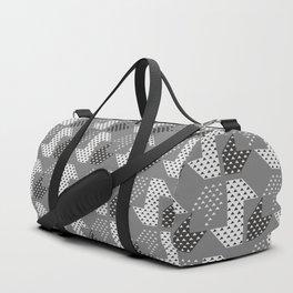 Clover&Nessie Gray/LightGray Duffle Bag