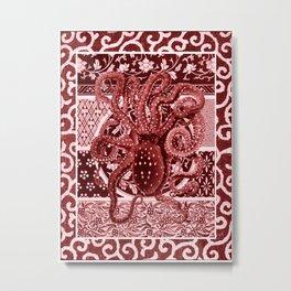 Aka Tako (Red Octopus) Metal Print
