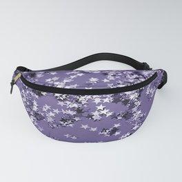 Ultra Violet Glitter Stars #1 #shiny #decor #art #society6 Fanny Pack