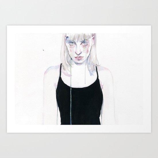 Arianna. Art Print