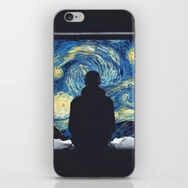 Window to another universe iPhone Skin