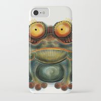 frog iPhone & iPod Cases featuring Frog by Riccardo Pertici