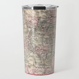 Vintage Map of Colorado (1884) Travel Mug