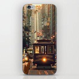 Cable car - San Francisco, CA iPhone Skin